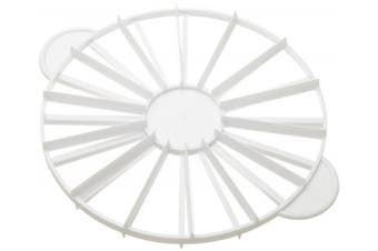 (14 - 16 Portions) - Ateco 1328 Cake Portion Marker, 14 or 16 Slices, Works for Cakes Up To 41cm Diameter