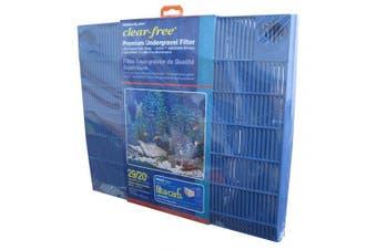 Penn Plax Premium Under Gravel Filter System - for 109.8l Fish Tanks & Aquariums