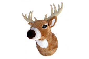 Adore 33cm Boone The Whitetail Deer Plush Stuffed Animal Walltoy Wall Mount