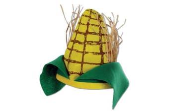 (1) - Beistle 60674 Plush Corn Cob Hat