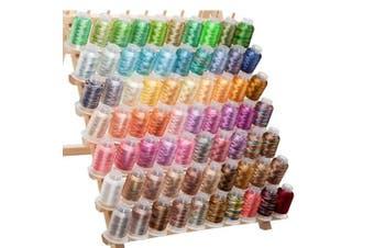 70 Spools Variegated Embroidery Machine Thread, New,  .
