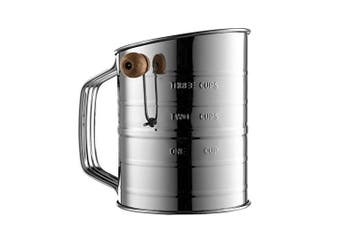 Bellemain Stainless Steel 3 Cup Sifter, New,  .
