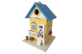 Cartman Coloured Country Cottages Bird House Farmhouse Birdhouse, New