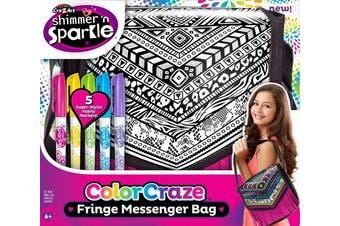 Cra-z-art Cra Z Art Funky Colour Craze Fringe Messenger Bag