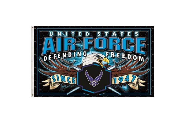 3x5 United States Us Air Force Flag Defending Freedom Strike Force 3 X 5