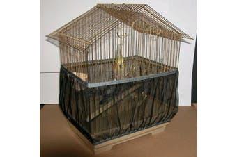 (Black) - Sheer Guard Bird Cage Skirt - Super Large Size (black)