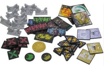 Zombicide: Plague Plastic Token Pack Board Game, Black