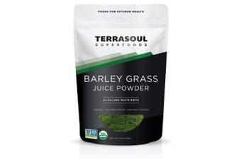 Terrasoul Superfoods Barley Grass Juice Powder (organic) 180ml
