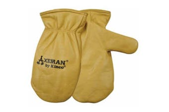 Kinco Axeman Lined Leather Mitt