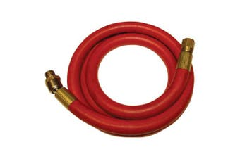 Apache 25731220cm X 150cm 300 Psi Rubber Air Whip Hose Assembly With 0.6cm