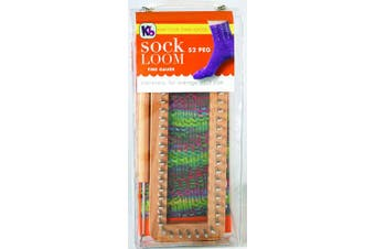 Authentic Knitting Board Sock Loom, New,  .