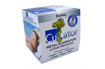 Periodic Products CuLator SpaPak Hot Tub Metal Eliminator and Stain Preventer