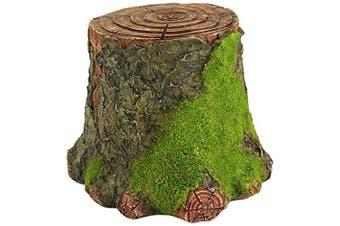 Top Collection Miniature Fairy Garden And Terrarium Decorative Mossy Tree Stump