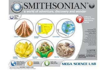 Smithsonian Mega Science Lab, New,  .