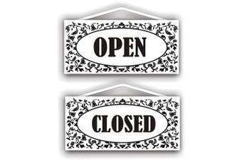 Open - Closed Double Sided Sign For Indoor Or Outdoor Use By Mysigncraft, New, F