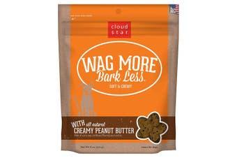 (Creamy Peanut Butter, 180ml) - Cloud Star Wag More Bark Less Soft & Chewy Peanut Butter Dog Treats, 180ml