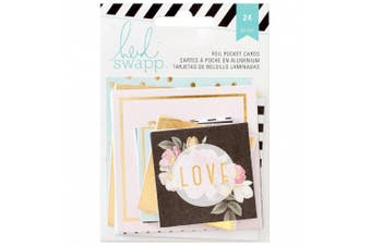 Heidi Swapp 24 Piece Memory Planner Pocket Cards