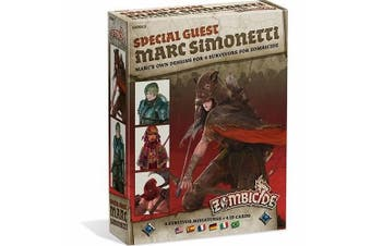 Zombicide Black Plague: Marc Simonetti Special Guest Character Expansion Guf012
