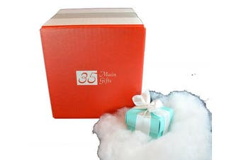 Lump of Coal in 2 Glacial Blue Gift Box by 35 Main Gifts