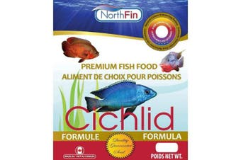 Northfin Food Cichlid Formula 2mm Pellet 100 Gramme Package.  .