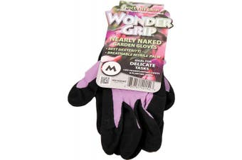 Wonder Grip Nearly Naked Gloves, X-small, Assorted Colours
