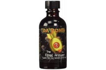 Da'bomb The Final Answer Hot Sauce, 60ml Glass Bottle