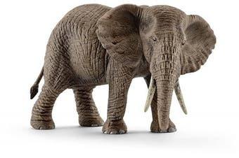 Schleich Female African Elephant Toy Figure