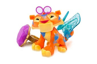 Animal Jam Light Up Friends With Ring- Sparkle Tiger