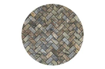 (None, Multicolor) - Thirstystone Stone Herringbone Coasters New