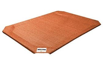 (Small) - Coolaroo Elevated Pet Bed Replacement Cover Small Terra Cotta New