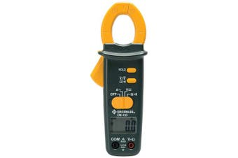 (AC Clamp-on Meter 400-Amp) - Greenlee Cm-410 Ac Clamp-on Metre, 400-amp, New,  .