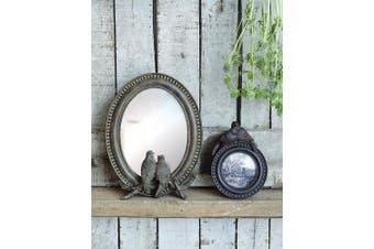 Creative Co-op Resin Bird Mirror