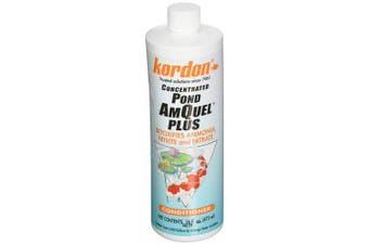 (16ounce-(treats2,400gallons)) - Kordon #32016 Pond Amquel Liquid Plus For Aquarium, 470ml, New, Free Shipp
