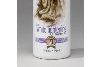 #1 All Systems Pure White Lightening Pet Shampoo, 470ml, New,  .