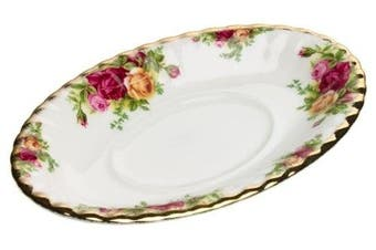 Royal Albert Old Country Roses Gravy Boat Stand New