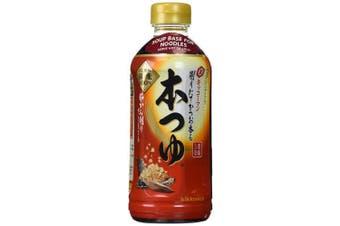 Kikkoman Japanese Noodle Soup Base(hon Tsuyu) 500ml New