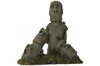 Blue Ribbon Pet Products Ablee5647 Easter Island Statues Ornaments For Aquarium,