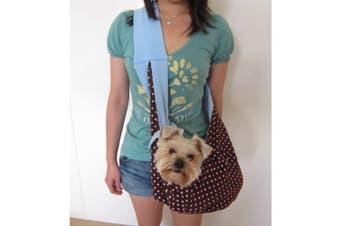 (Blue) - Alfie Pet By Petoga Couture - Chico Reversible Pet Sling Carrier - Colour: Blue
