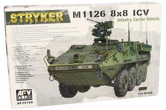 Afv Club 1/35 Af35126 Stryker M1126 8x8 Icv Infantry Carrier Vehicle