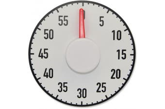 Ashley Magnetic Big Timer - 1 Hour - Desktop - For Sports - White, Black