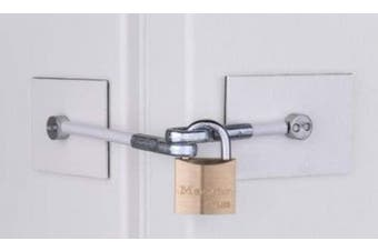 Refrigerator Door Lock - No Padlock