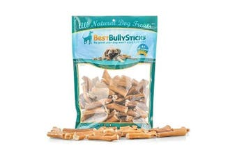 (Bully Stick Bites (0.9kg)) - 100% Natural Junior Bully Sticks by Best Bully Sticks - Beef Bladder Stick Dog Treats