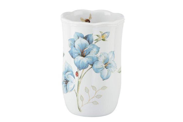 Lenox Butterfly Meadow Floral Garden Tumbler, Blue, New,  .
