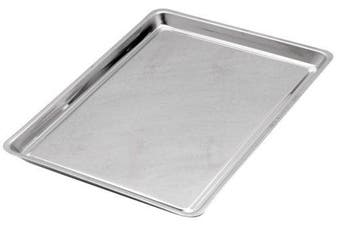 (1, Stainless Steel) - Norpro Stainless Steel 10 X 38cm X 2.5cm Jelly Roll Baking Pan , New, Free Shippi