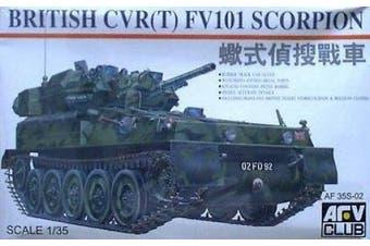 Afv Club Af35s02 1/35 British Cvr(t) Fv101 Scorpion