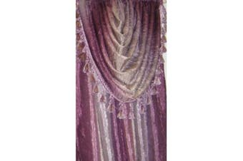 (Earth) - Achim Home Furnishings Ombre h Scarf, 130cm by 370cm , Earth
