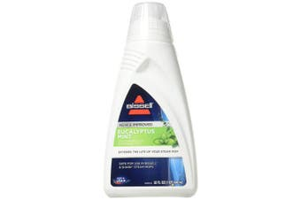 Bissell Eucalyptus Mint Demineralized Steam Mop Water, 950mls, 1392