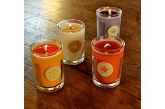 Root Scented Seeking Balance Enlighten Candle, Cedar Verbena , New, Free Shippin