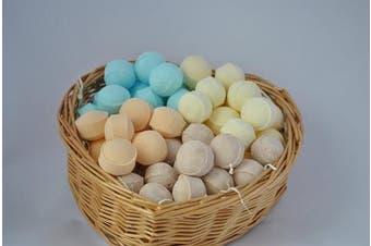 (Marbles/Pills) - 60 x mini bath bomb marbles, assorted fragrances