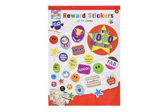 Childrens Reward Sticker Book - Over 1000 Stickers